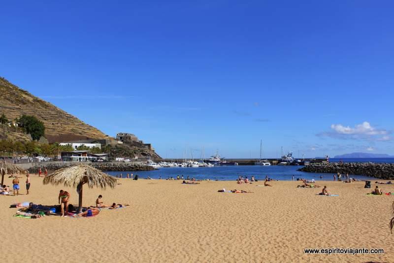 Praia de Machico Madeira