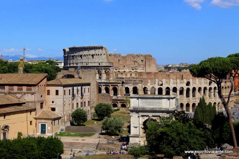 Visitar o Coliseu em Roma