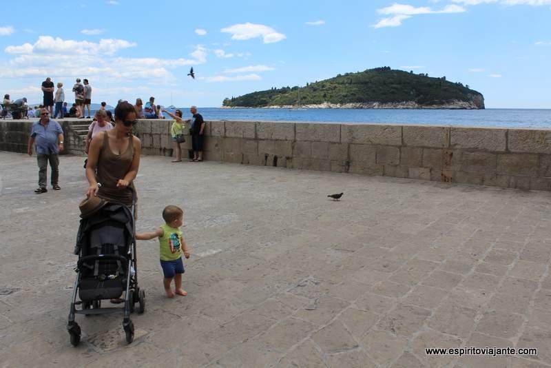Croácia viajar com bebés e crianças