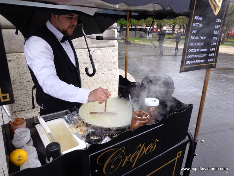 Crepes Paris France