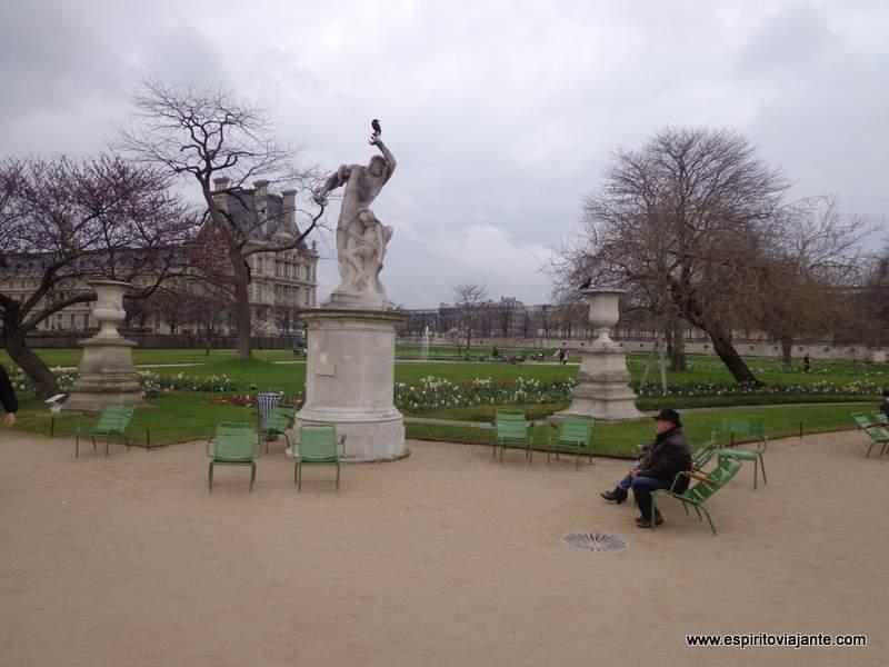 Jardin des Tuileries Jardim das Tulherias Paris