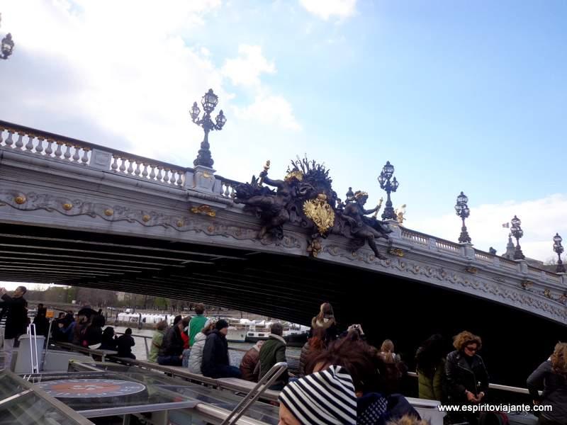 Ponte Alexandre III Paris França