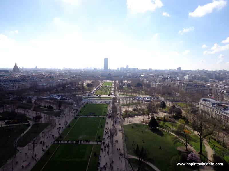 Torre Eiffel e Campo de Marte Paris