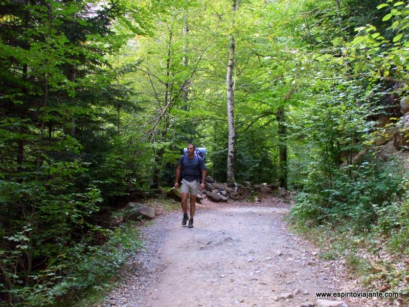 Trilhos pedestres Ordesa Pirineus