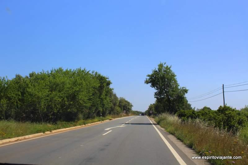 EN 124 São Bartolomeu de Messines Alte Algarve