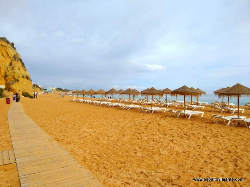 Praias Albufeira Algarve