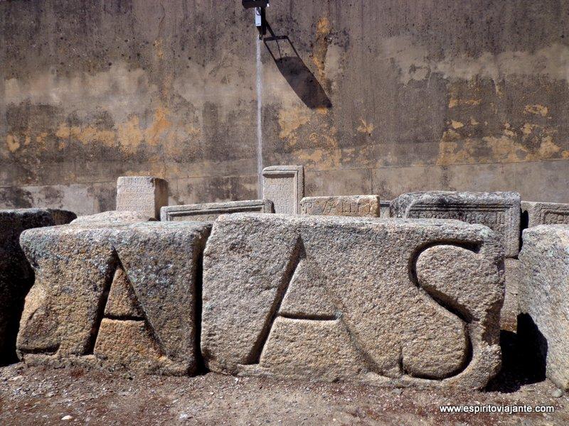 Aras romanas