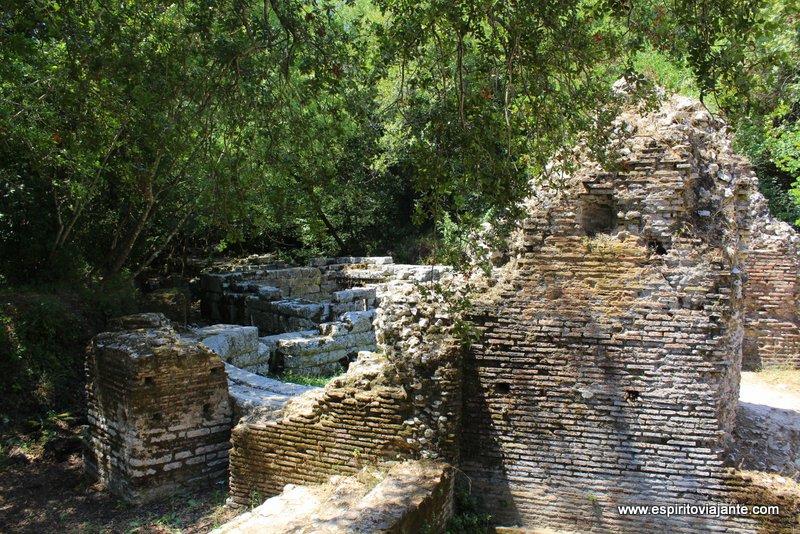 Arqueologia Albânia Nymphaeum