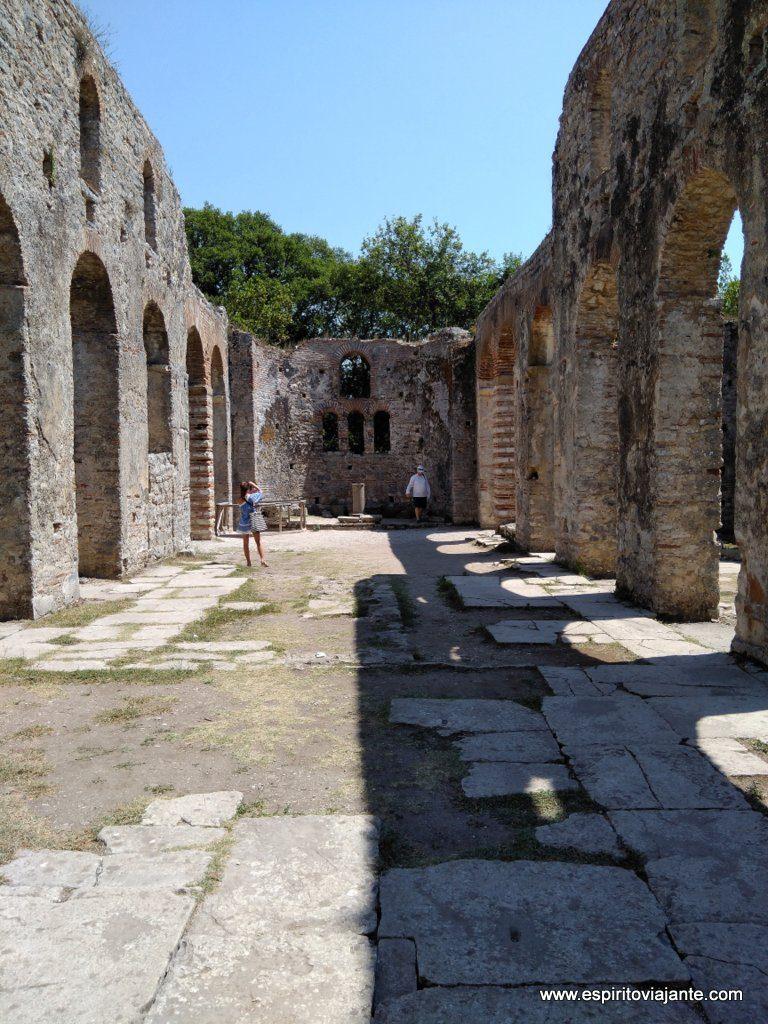 Basilica Butrint Albânia