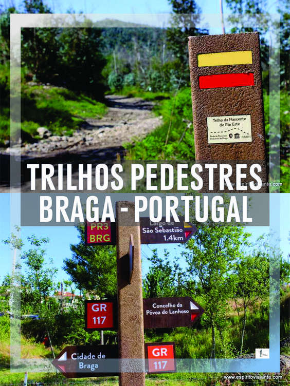 Trilhos pedestres Braga