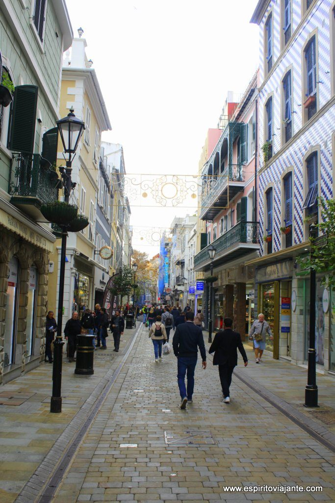 Main Street em Gibraltar
