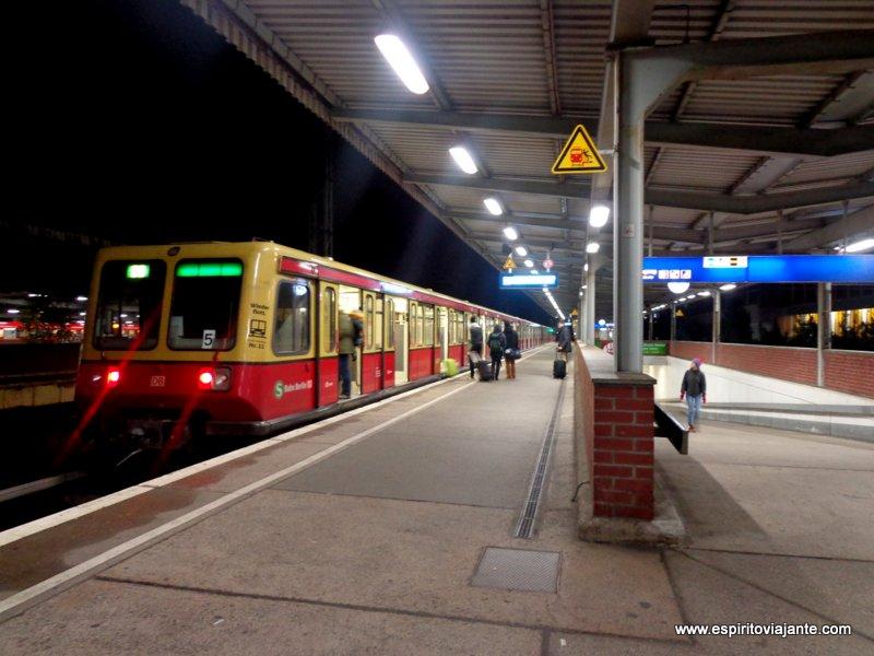 Bahnhof Berlin-Schönefeld Flughafen