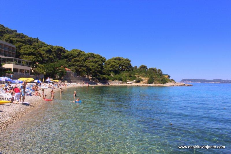 Praia Lapad Croácia