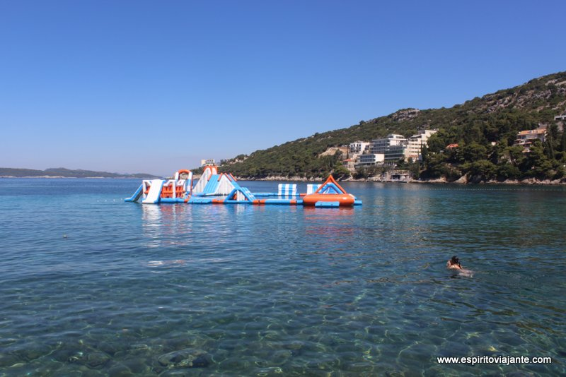 Praia de Lapad Croácia