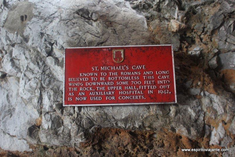 Gruta de S. Miguel Gibraltar