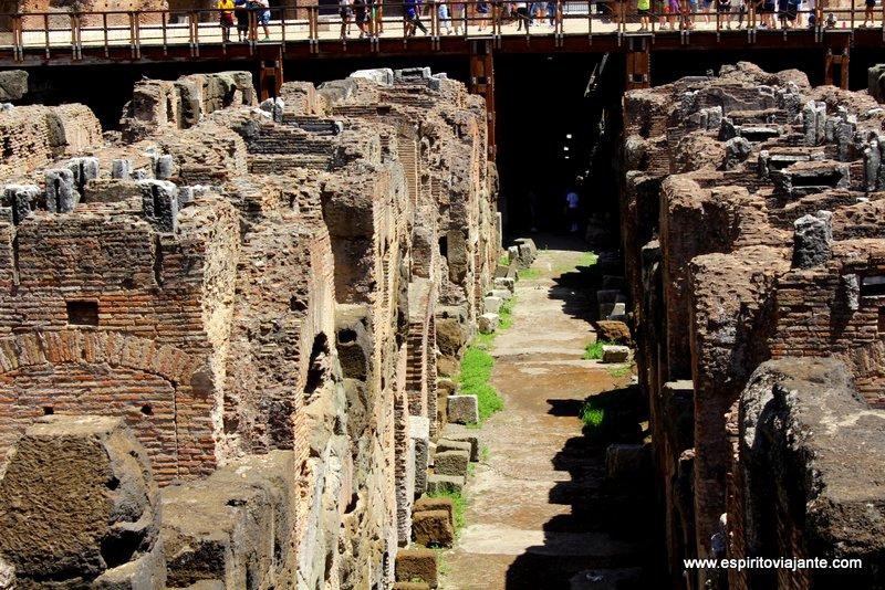 catacumbas do Coliseu