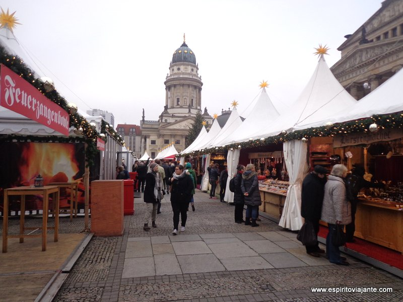 Catedral Alemã Berlim - Gendarmenmarkt