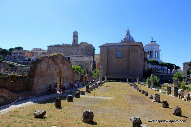 Curia Julia Forum Roma