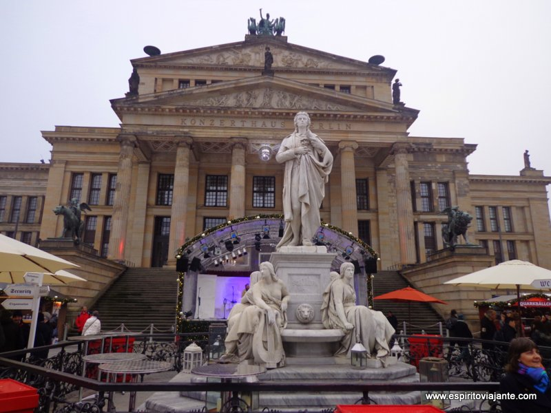 Konzerthaus  Berlim Gendarmenmarkt