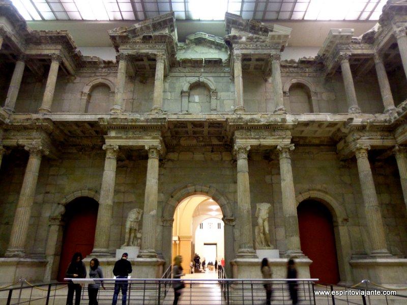 Portas do Mercado de Mileto no Museu Pergamon