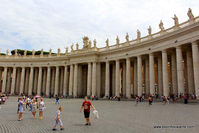 Praça de S. Pedro - Vaticano