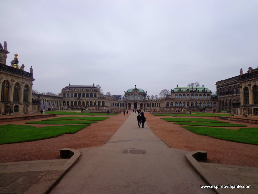Palácio de Zwinger em Dresden