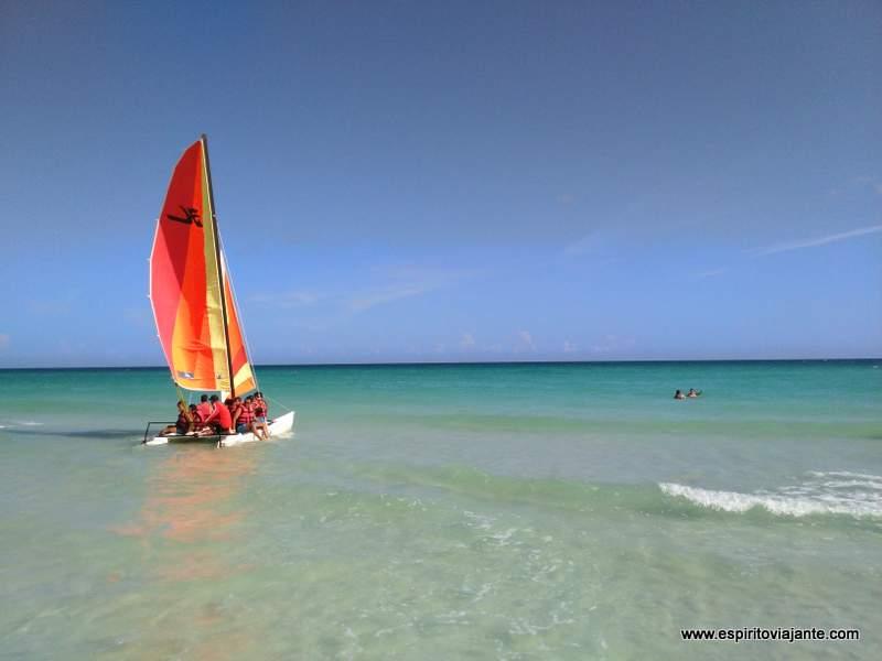 As praias paradisíacas de Varadero, Cuba