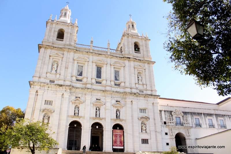 Igreja de São Vicente - visitar Lisboa