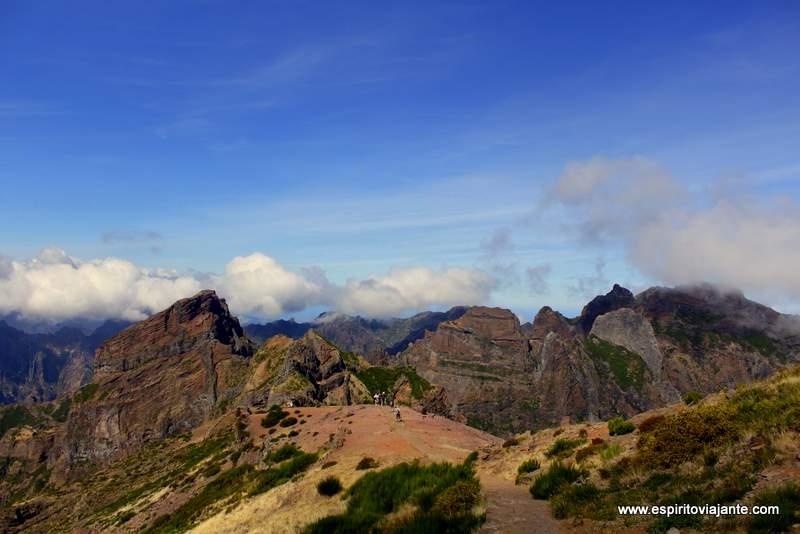 Pico Areeiro - Visitar a Madeira