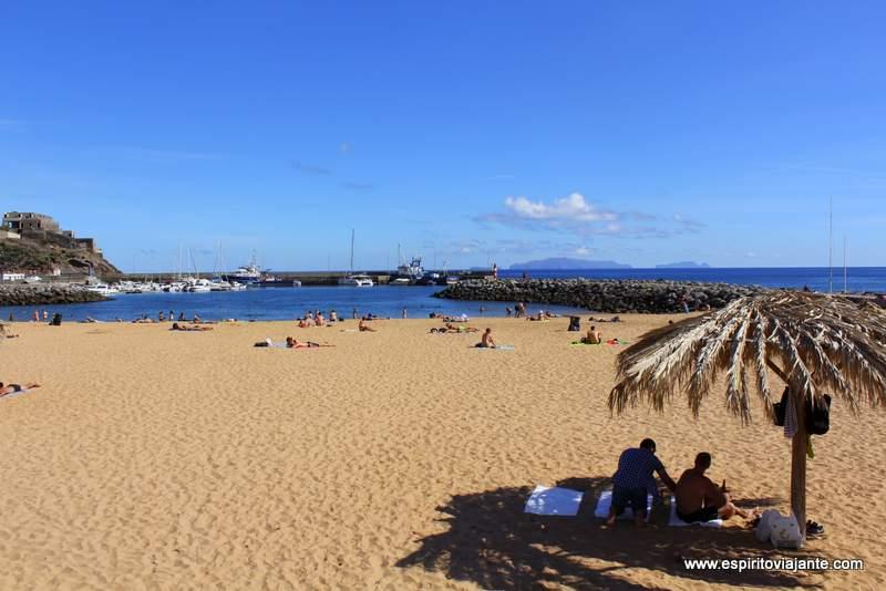 Praia Machico - Visitar a Madeira
