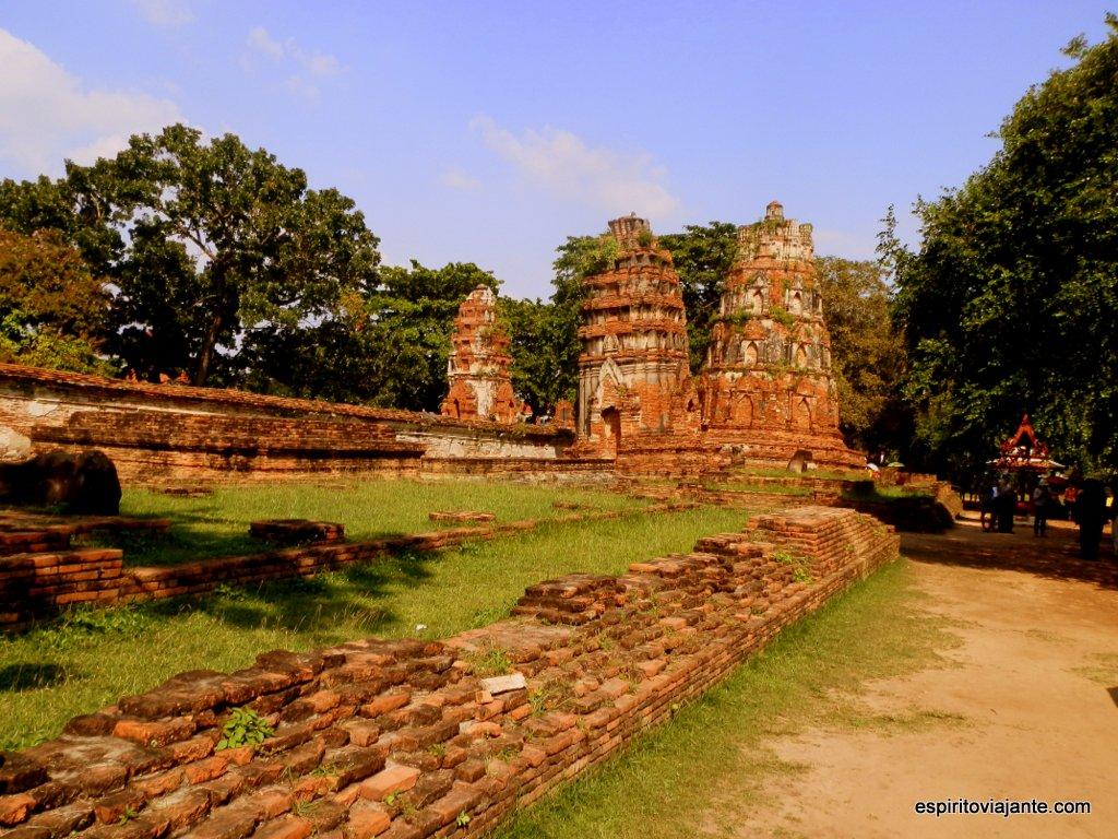 Parque Arqueologico Ayutthaya UNESCO