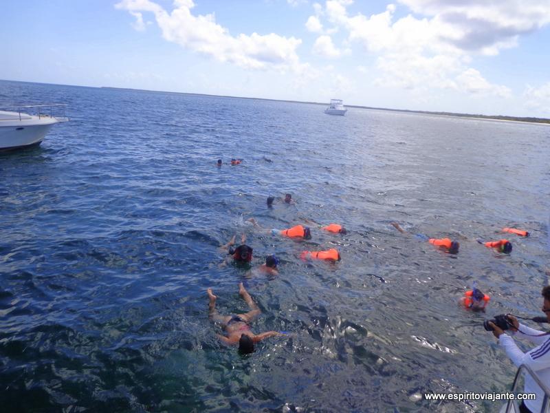 Cayo Blanco snorkeling