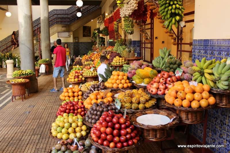 Mercado Lavradores Funchal Madeira