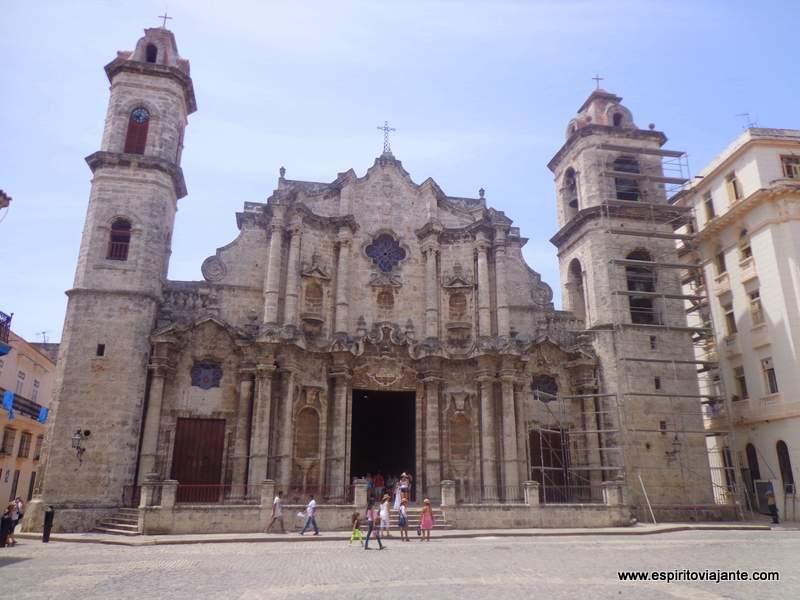 Havana catedral - visitar Cuba
