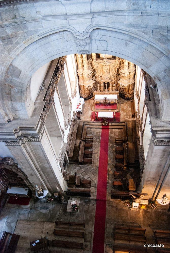 Vista da capela-mor