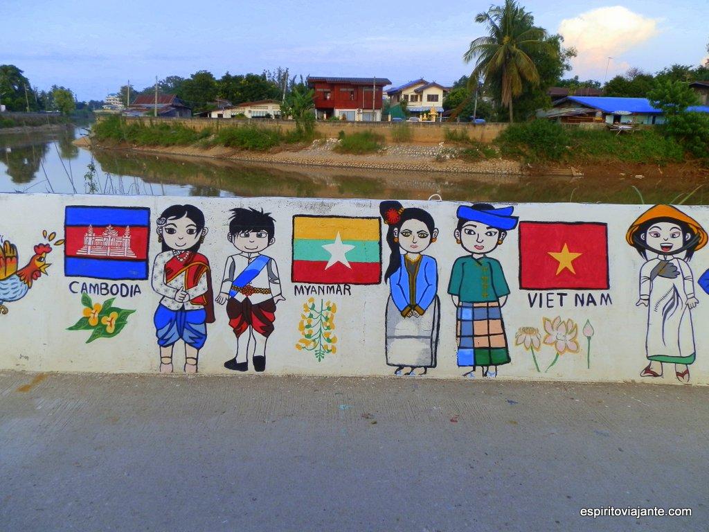 Pinturas murais Sukhothai
