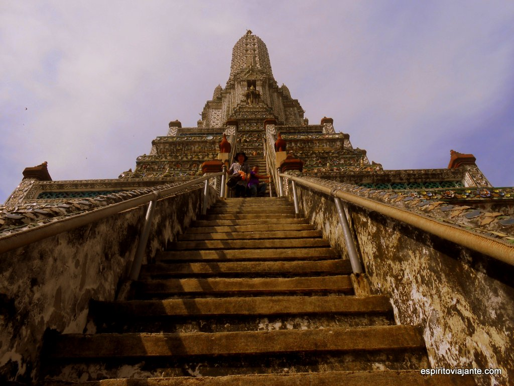 Wat Arun visitar Bangkok