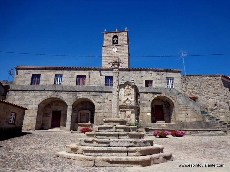 Aldeia Histórica de Castelo Novo Casa da Camara Portugal