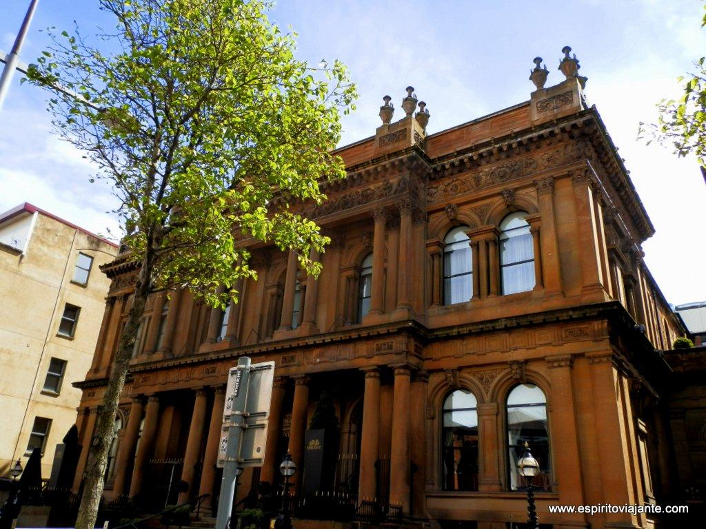 Arquitetura vitoriana Belfast Irlanda do Norte