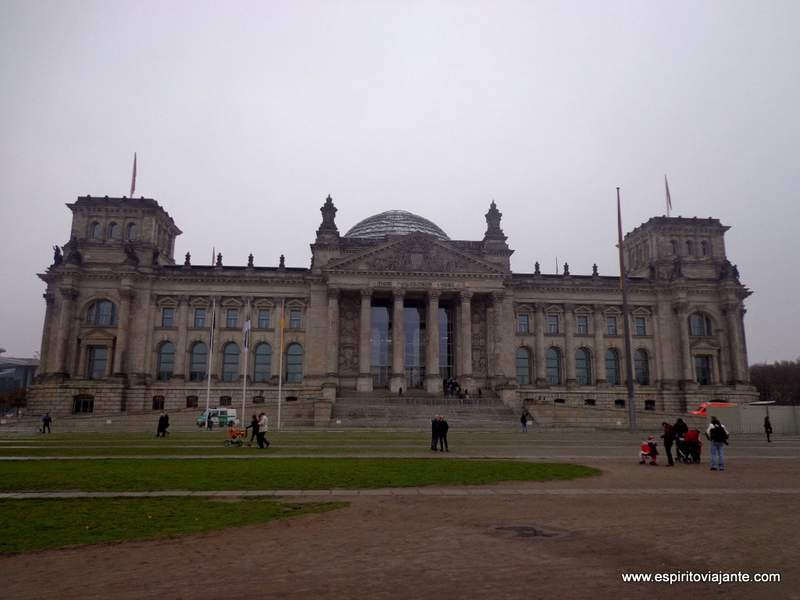 Visitar Berlim - Parlamento