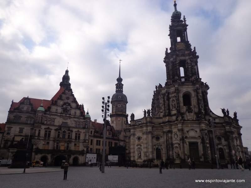 Catedral de Dresden Saxónia