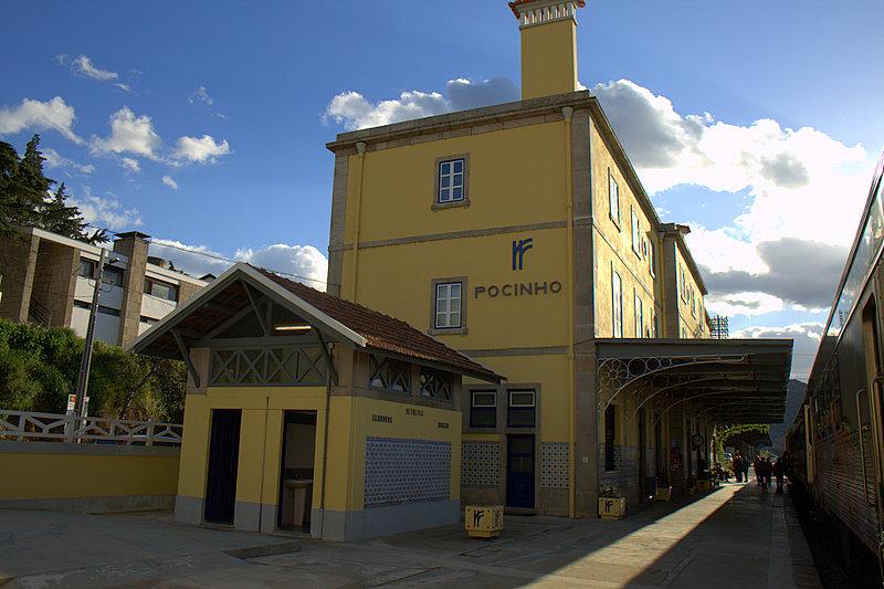 Estação do Pocinho Foz Côa Portugal Douro Vinhateiro