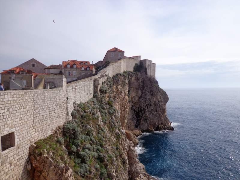 Muralhas Dubrovnik Turismo Croácia