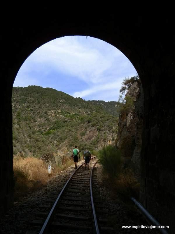 Tunel Linha do Tua Douro