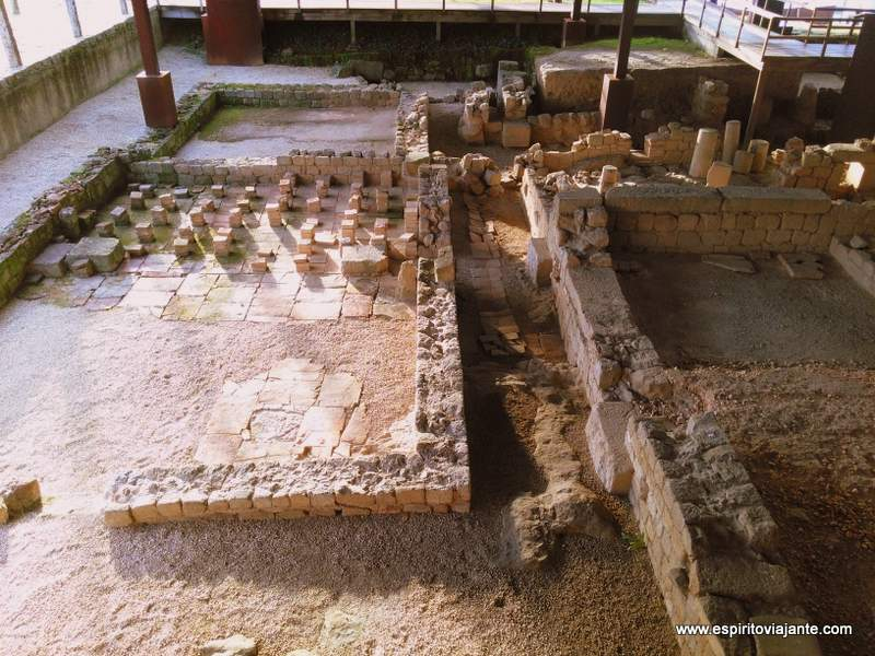 ruínas romanas da Cividade
