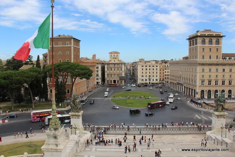Piazza Venezia Square Roma