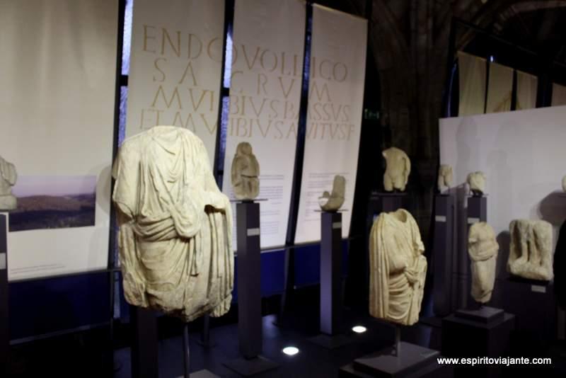 Museu Nacional de Arqueologia Estátuas romanas