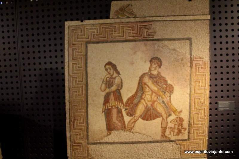 Museu Nacional de Arqueologia Mosaicos
