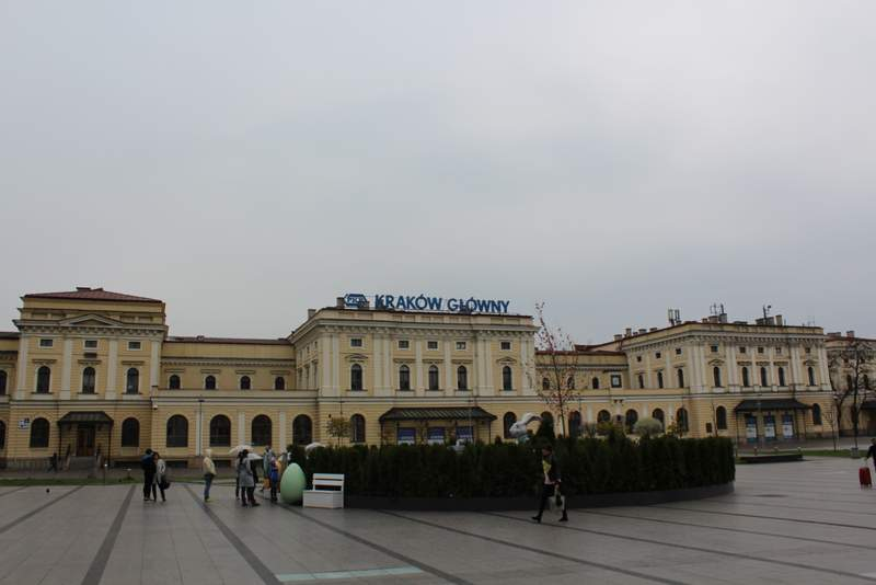 Estação de Cracóvia Krakow Glówny