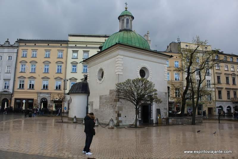 Igreja de S. Adalberto Kościół św. Wojciecha w Krakowie